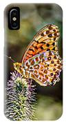 On The Wings Of A Butterfly... IPhone Case
