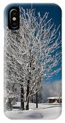 Winter On The Wurmberg, Harz IPhone Case