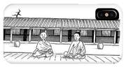 One Buddhist Monk Asks Another While Meditating IPhone X Case