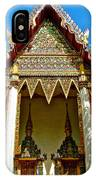 One Of Many Pagodas In Bangkok-thailand IPhone Case