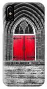 One Red Door IPhone Case