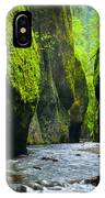 Oneonta River Gorge IPhone Case