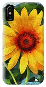 Onyx Store Sunflower IPhone Case