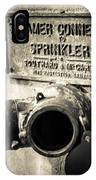 Open Sprinkler IPhone Case