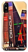 Oracle Ac 45's IPhone Case