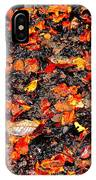 Orange And Brown IPhone Case