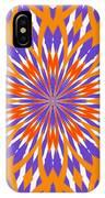 Orange And Purple Kaleidoscope IPhone Case