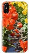 Orange And Yellow Tulips IPhone Case