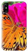 Orange Beauty IPhone X Case