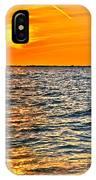 Orange Burn IPhone Case