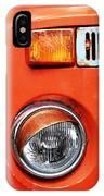 Orange Camper Van IPhone Case