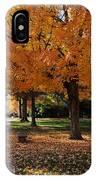 Orange Canopy - Davidson College IPhone Case