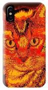 Orange Cat IPhone Case