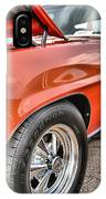Orange Chevelle Ss 396 IPhone Case