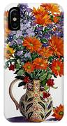 Orange Chrysanthemums IPhone Case