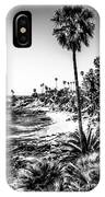Orange County California In Black And White IPhone Case