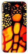 Orange Dragonfly IPhone Case