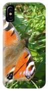 Orange Flutter IPhone Case