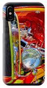 Orange Ford IPhone Case