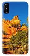 Orange Foreground A Blue Blue Sky  IPhone Case
