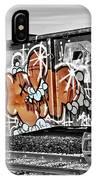 Orange Graffiti IPhone Case