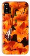 Orange Lilies IPhone Case