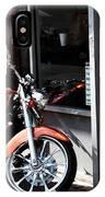 Orange Motorcycle IPhone Case