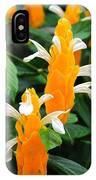 Orange Of Flowers IPhone Case