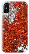 Orange Red Blanket IPhone Case