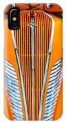 Orange Terraplane IPhone Case