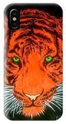 Orange Tiger IPhone Case