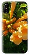 Orange Trumpets IPhone Case