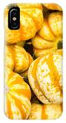 Orange Winter Squash On Display IPhone Case