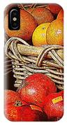 Oranges And Persimmons IPhone Case