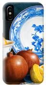 Oranges And Pomegranates IPhone Case