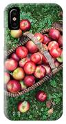 Orchard Fresh Picked Apples IPhone Case