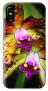 Orchid Elegance IPhone Case