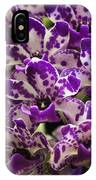 Orchid Grouping IPhone Case