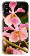 Orchid Number 17 IPhone Case