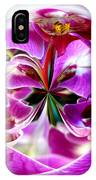 Orchid Orb I IPhone Case