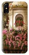 Orchid Show IPhone Case