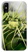 Orchid Spikes IPhone Case