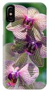 Orchid Two IPhone Case