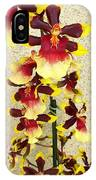 Orchids 18 IPhone Case