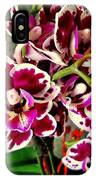 Orchids 21 IPhone Case