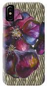Orchids Zebra IPhone Case
