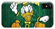 Oregon Ducks Barn Door IPhone Case