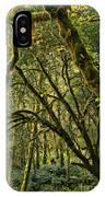 Oregon Rainforest Green IPhone Case