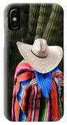 Organ Pipe Cactus The Visitor 2 IPhone Case