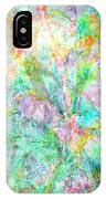 Organic Colors By Jan Marvin IPhone Case